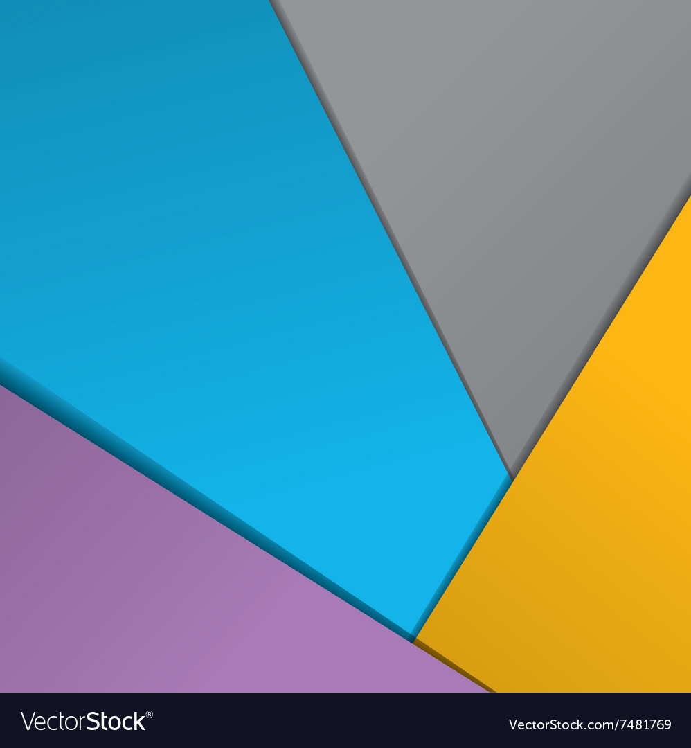 Modern material design background Royalty Free Vector Image