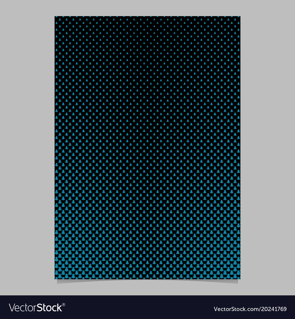 Pine tree pattern page backgeround design vector image