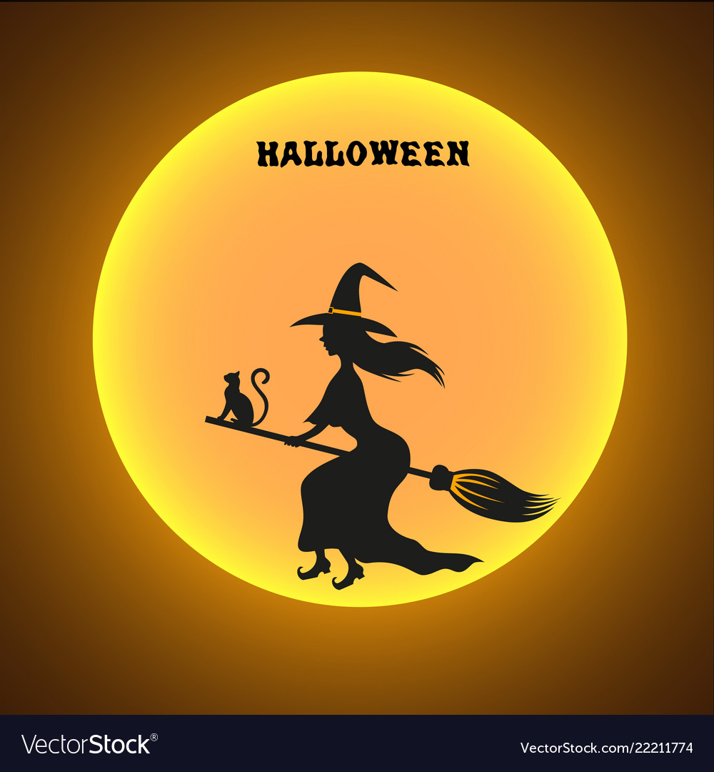 halloween design cover royalty free vector image