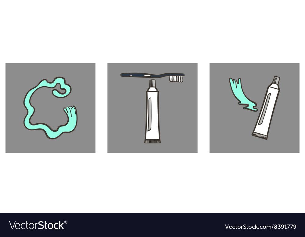 Decoartive Font Toothpaste Part 7