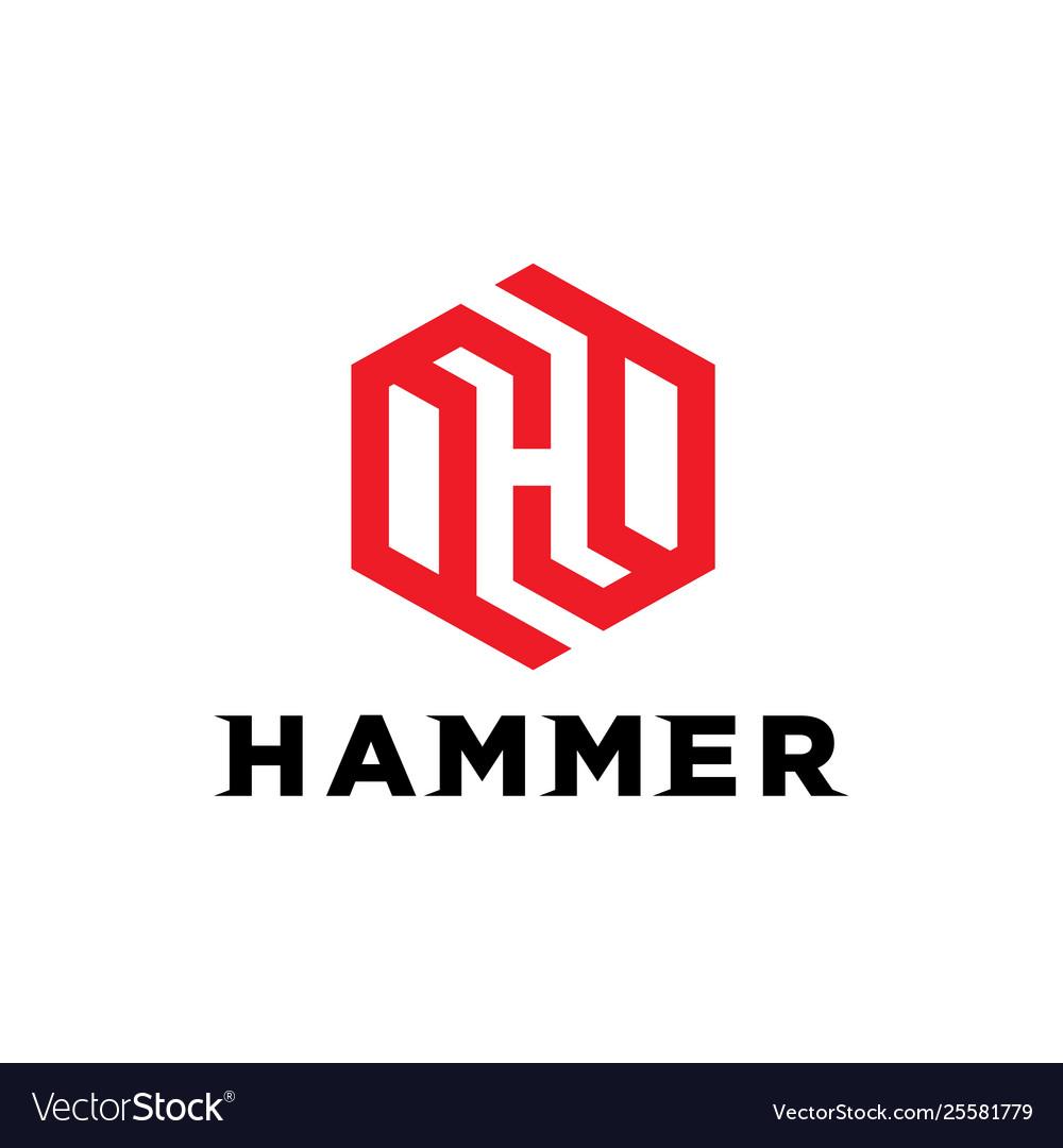 Monogram initial h logo