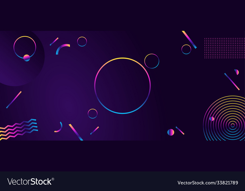 Abstract geometric ultraviolet background modern