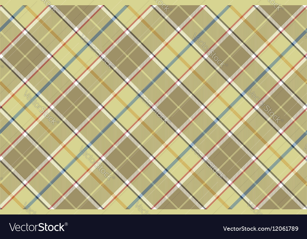 Beige check seamless diagonal fabric texture