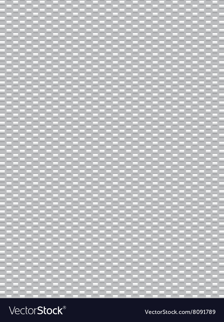 White texture synthetic fiber geometric seamless b vector image