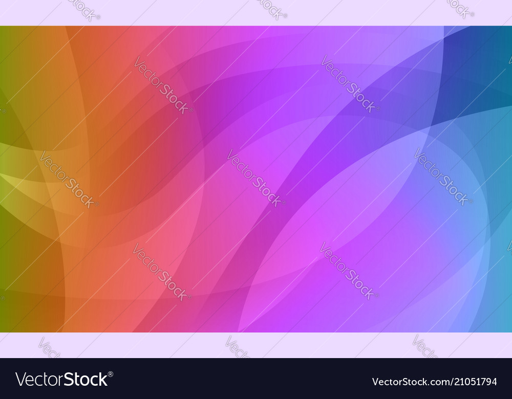 Abstract rainbow gradient wavy background