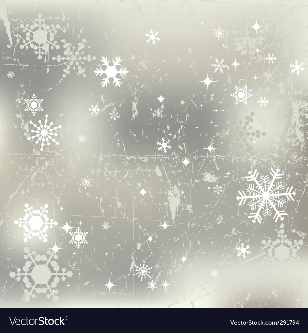 Winter background snowflakes illustration