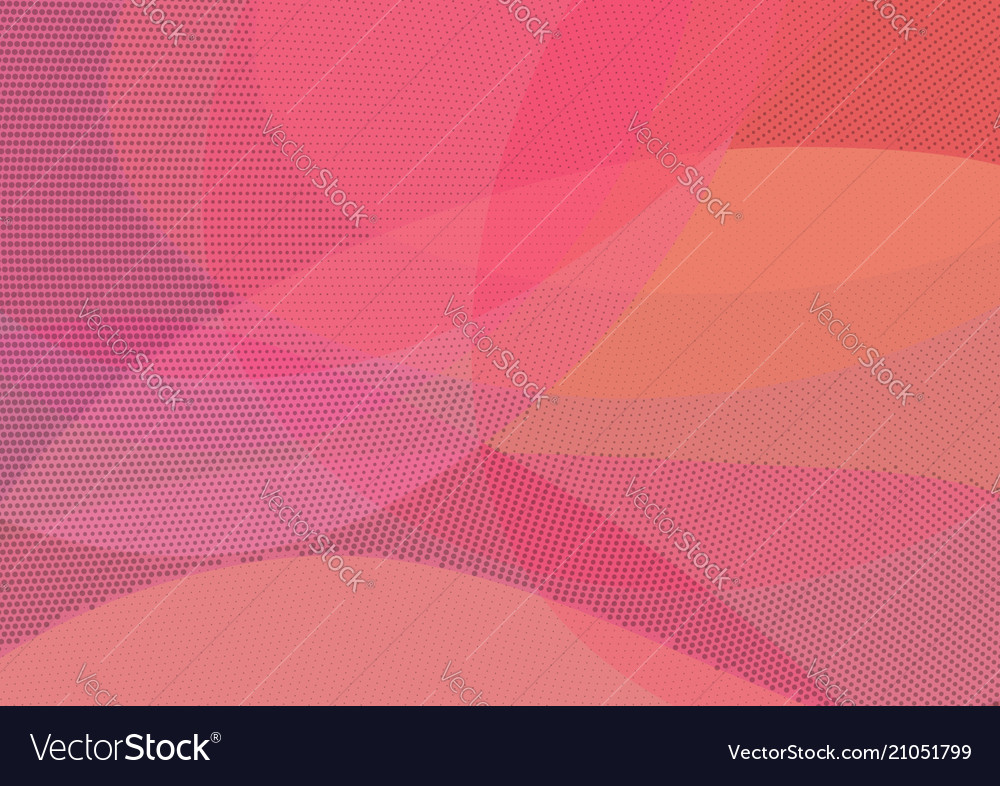 Abstract red and orange background with halftone