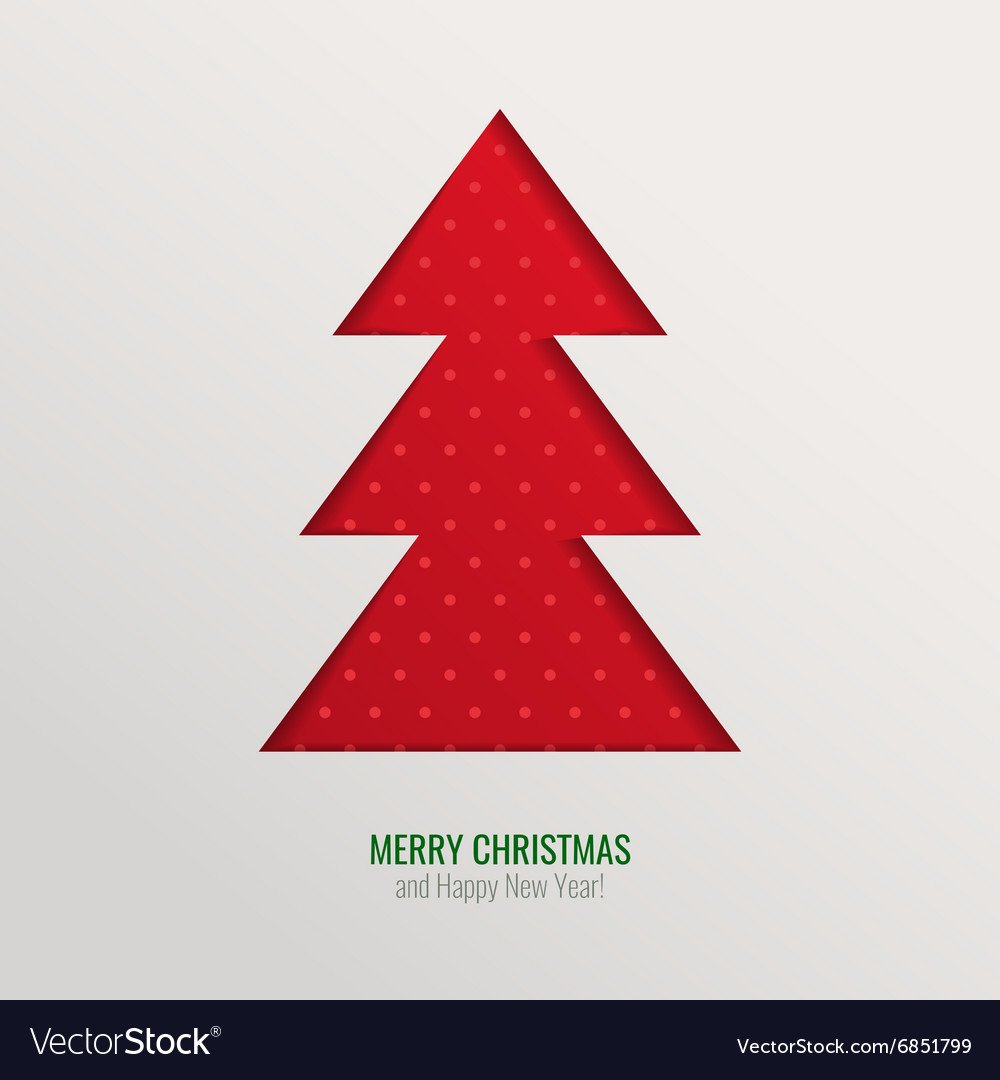 Christmas tree cut out background