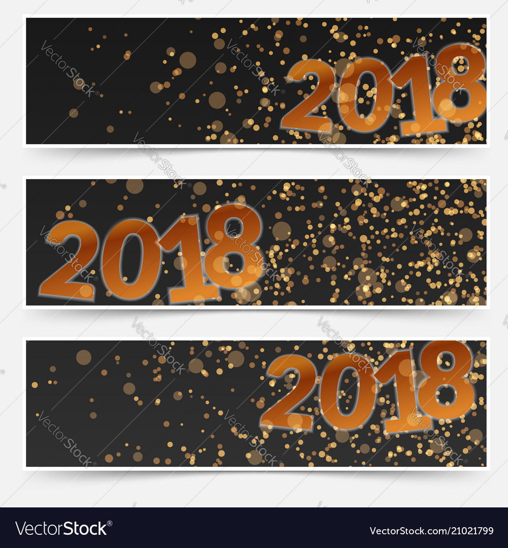 happy new years night club party flyers template vector image