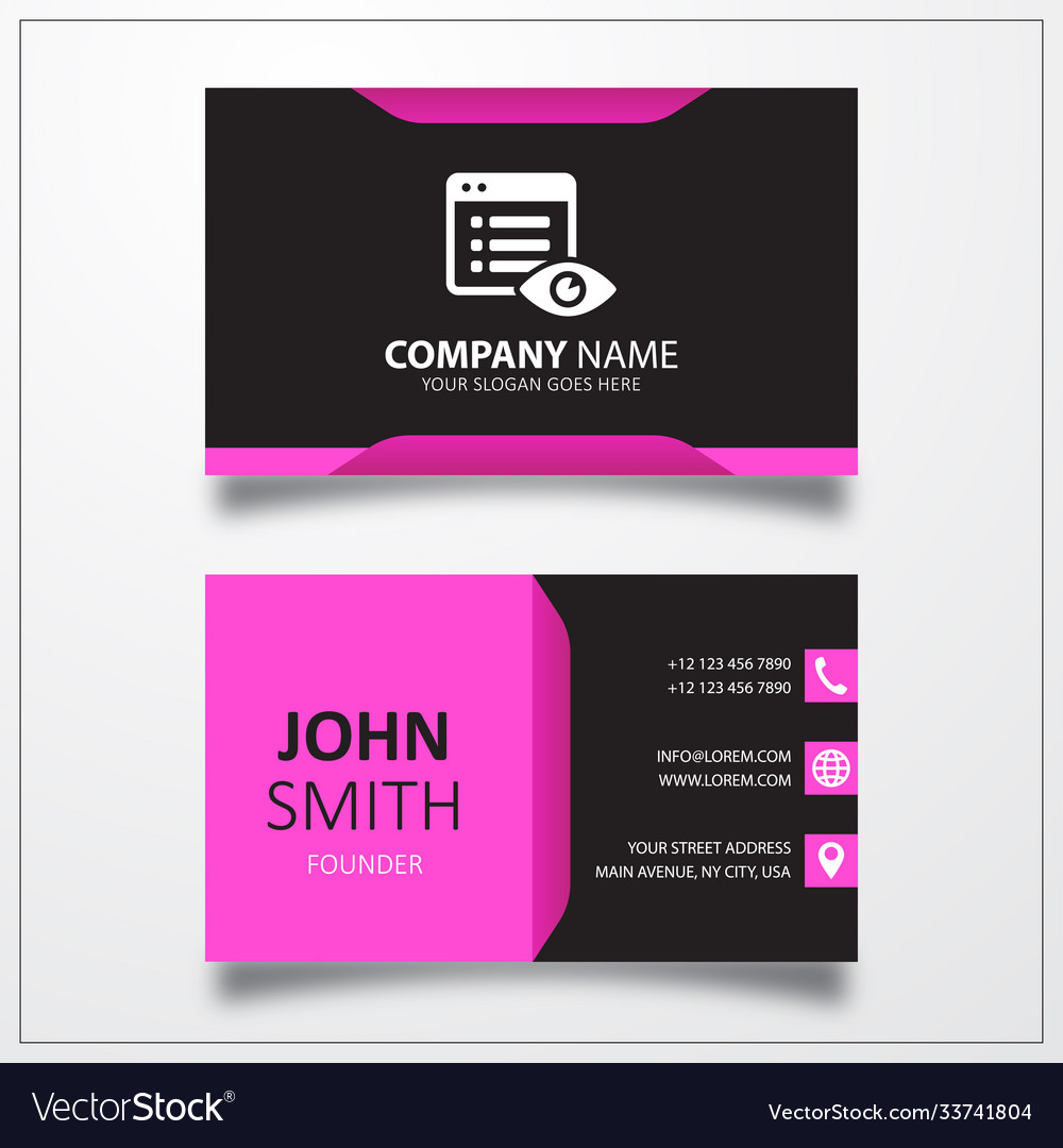 File hide icon business card template