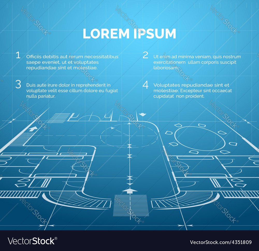 Architectural blueprint background royalty free vector image architectural blueprint background vector image malvernweather Image collections