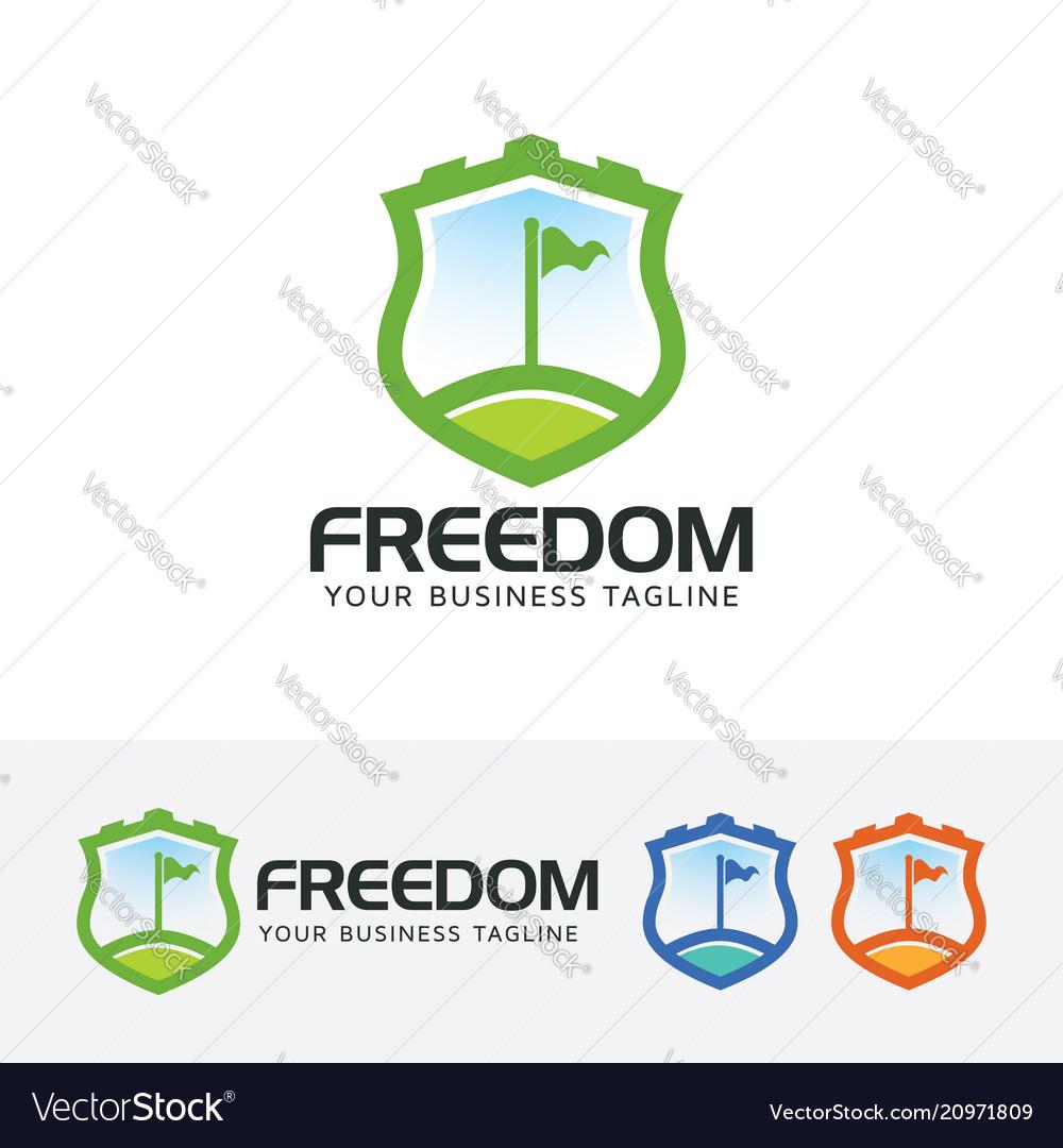 Freedom logo design