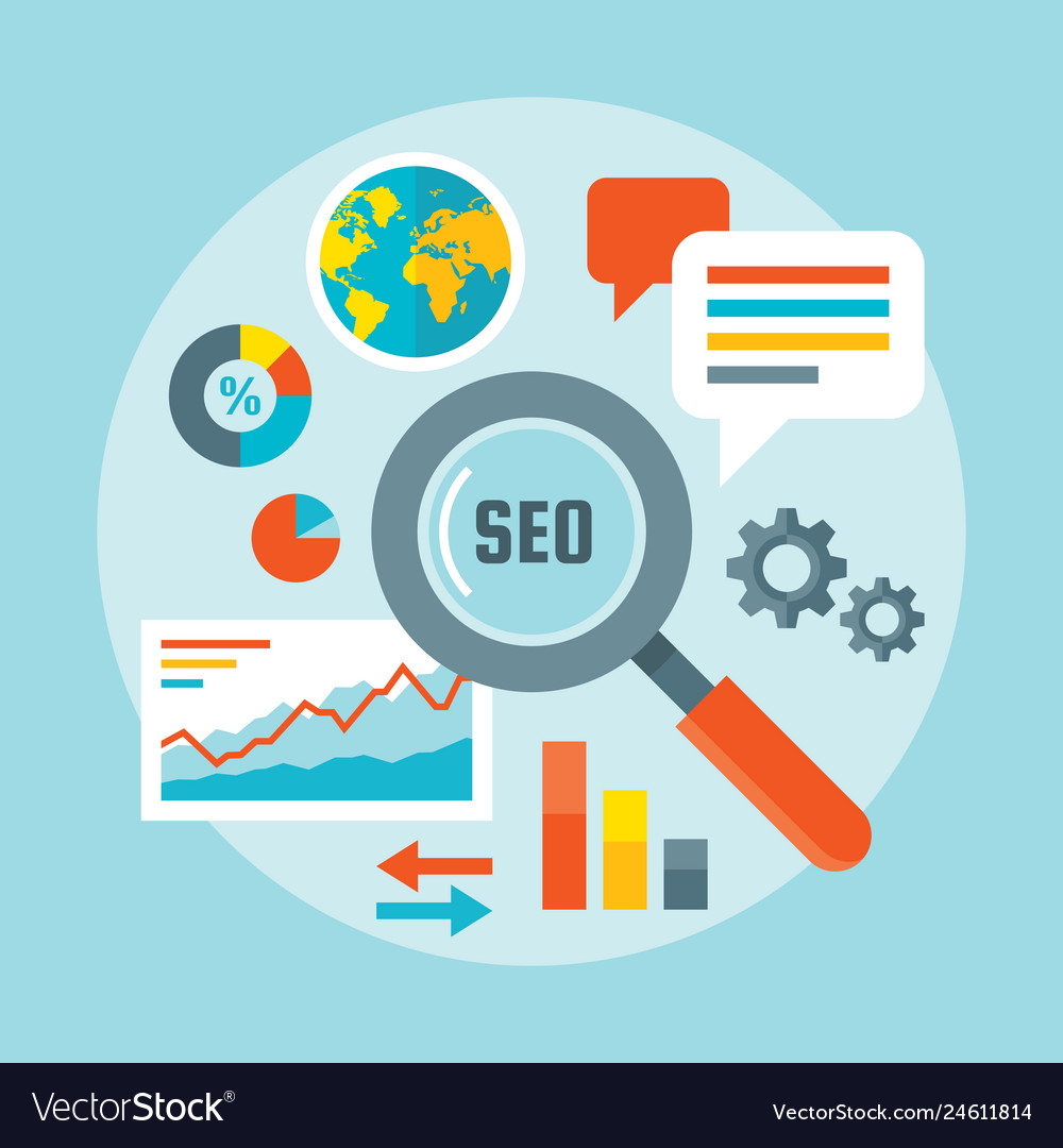 Search engine optimization - concept