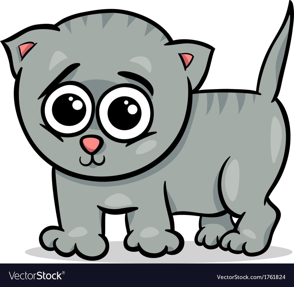 Baby cat kitten cartoon