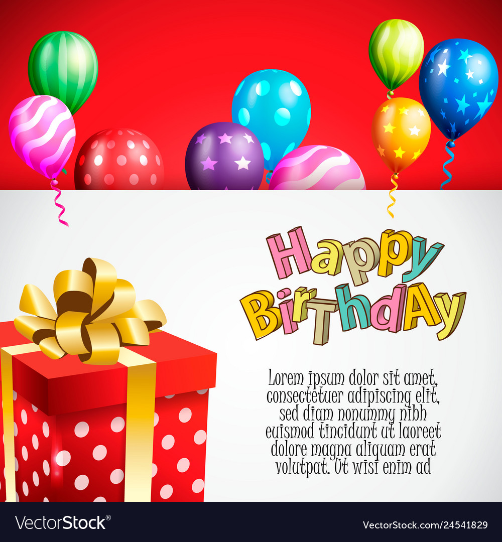 Birthday Invitation Card Birthday Background