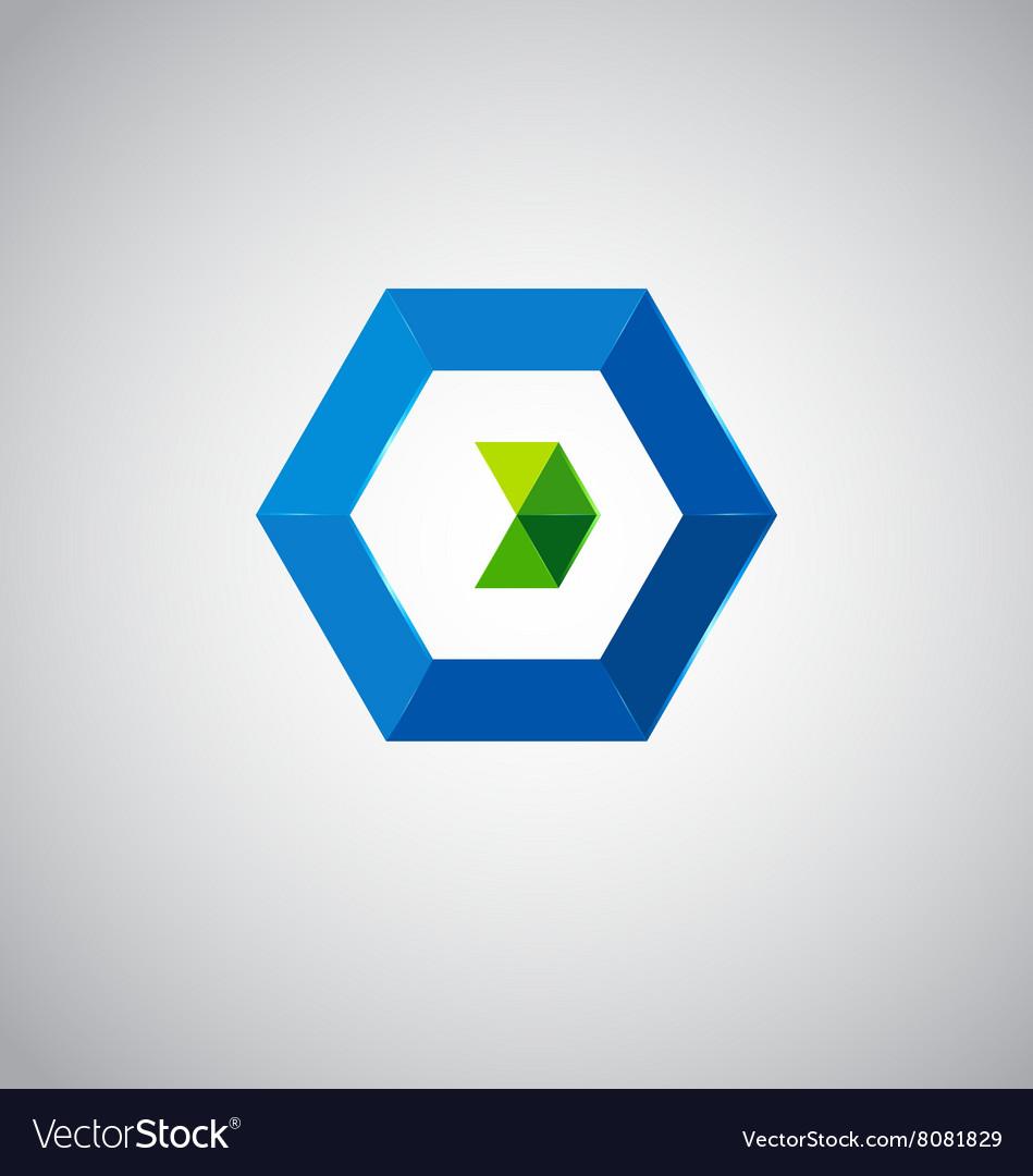 Icon design based on letter O