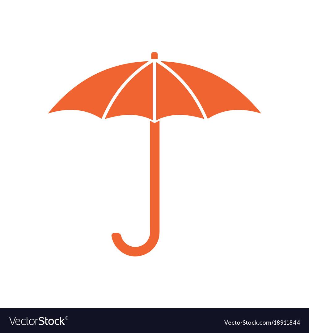 Umbrella sketch icon