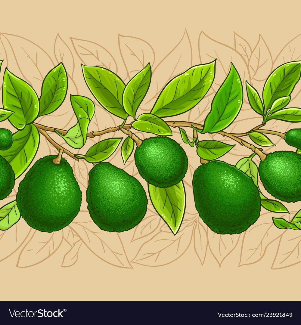 Avocado branches pattern