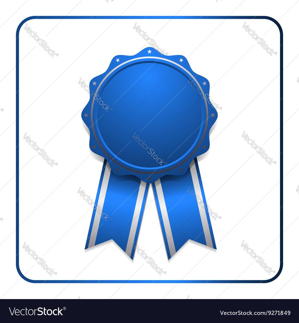 Ribbon award icon blue 1