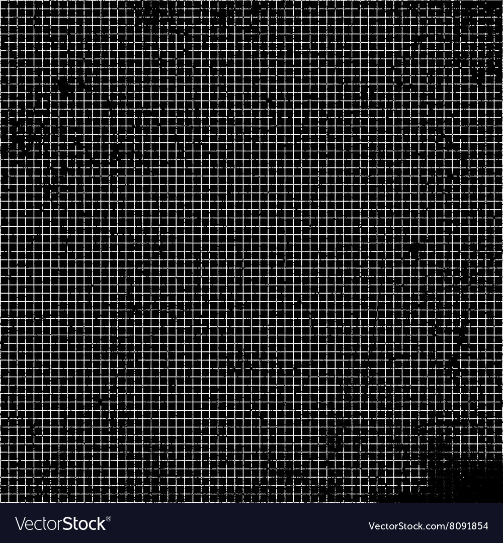 Grid My Black vector image