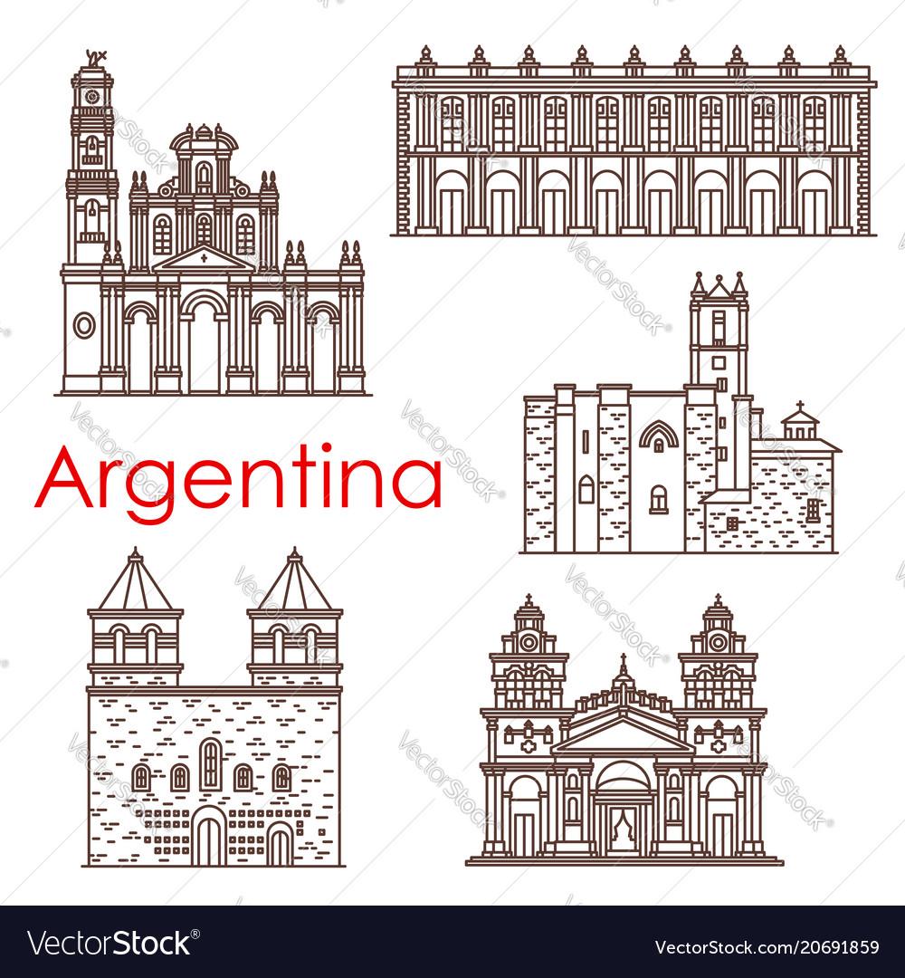 Argentina landmarks famous buildings icons