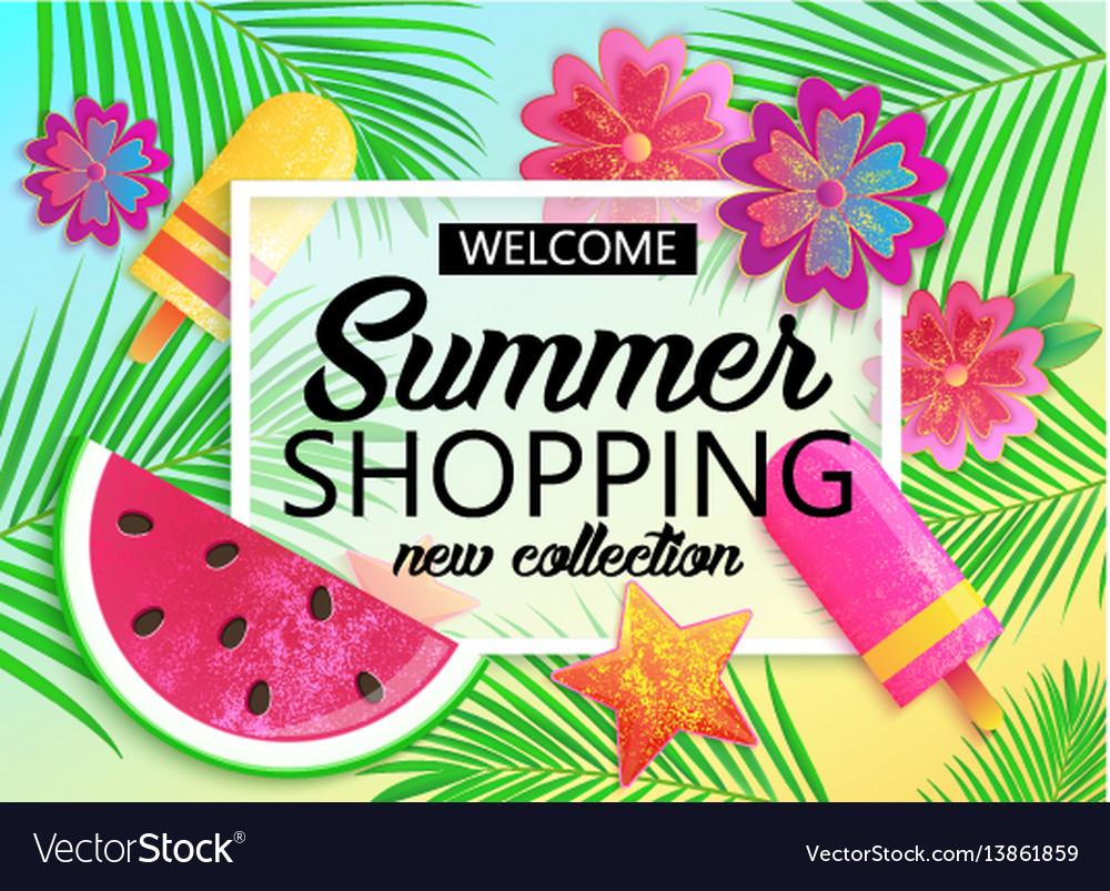 Big summer sale background for banner wallpaper