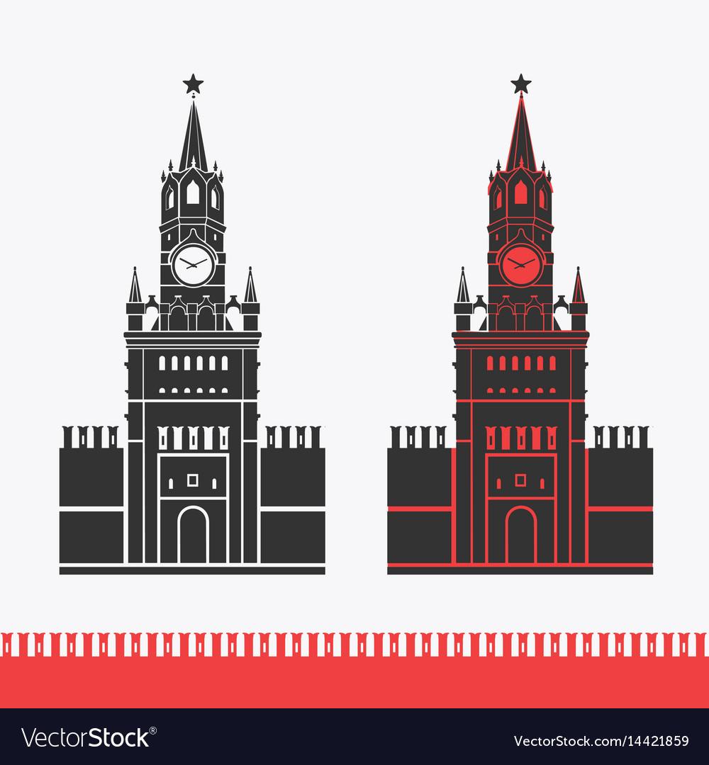 Kremlin clock chimes moscow symbol