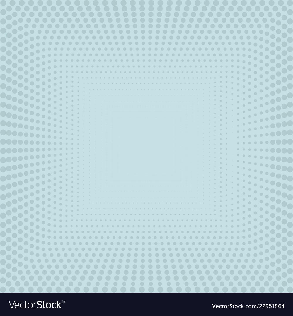 Blue halftone pattern
