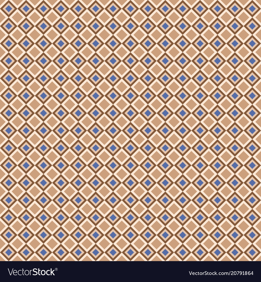 Geometric seamless pattern with color diagonal