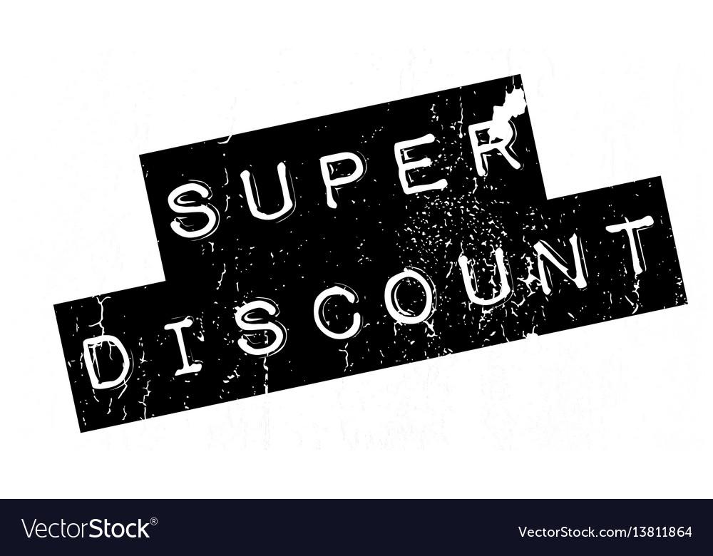 Super discount rubber stamp