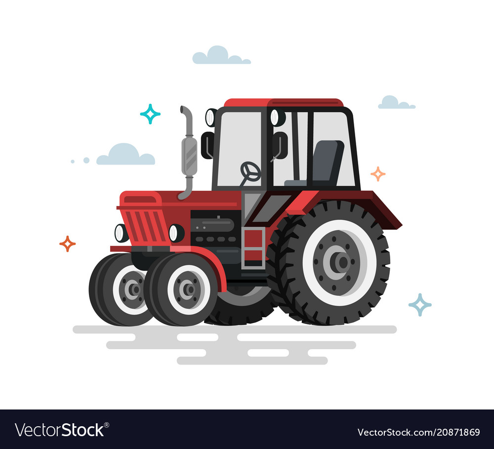 Flat tractor