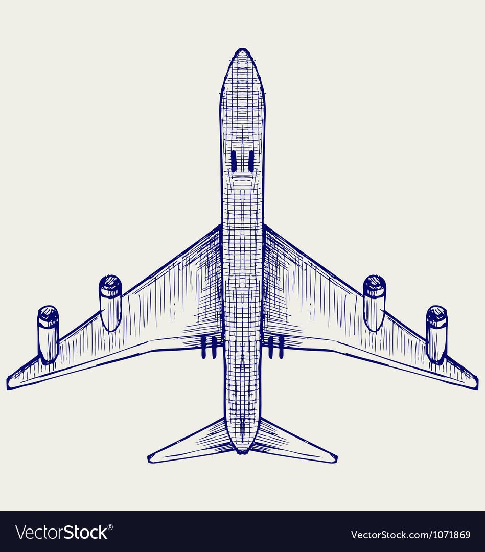 Jets symbols vector image