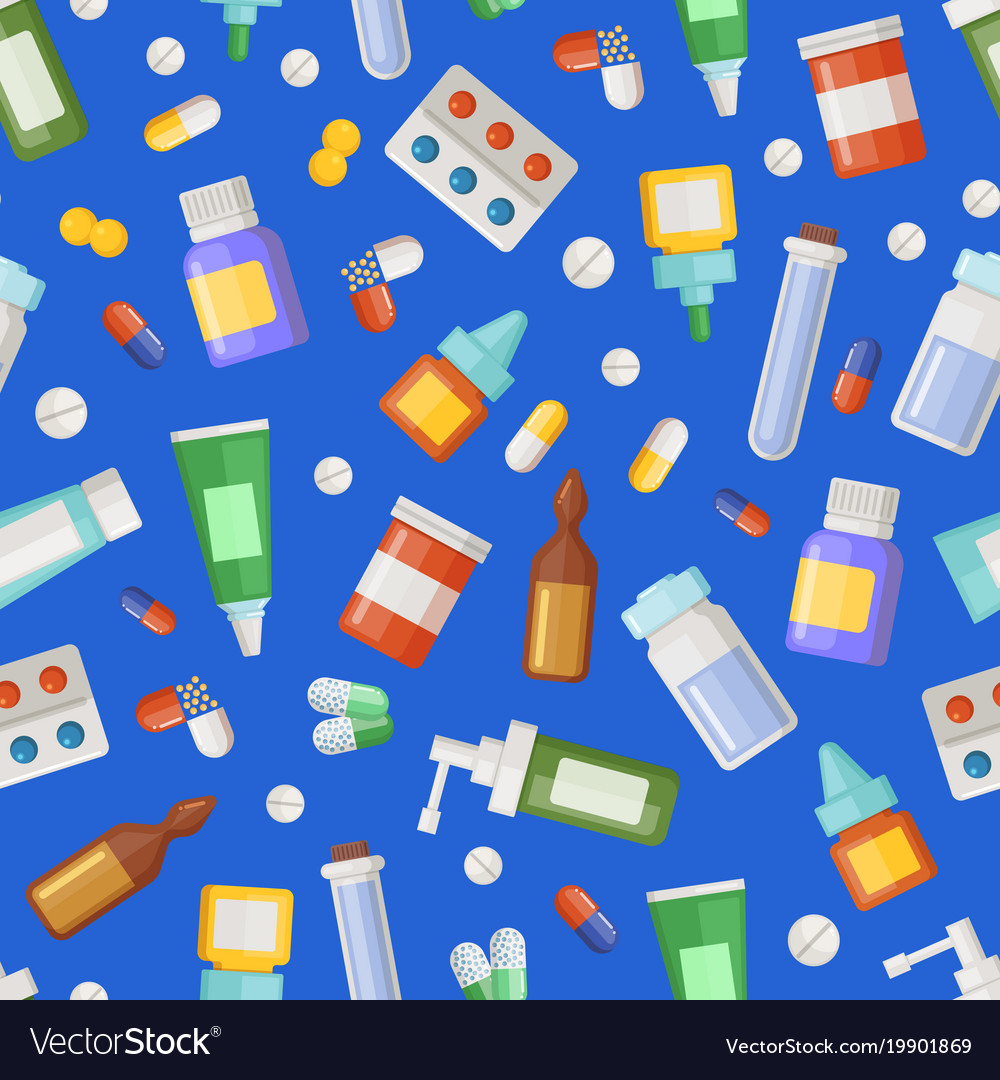 Pharmacy medicines pills and potions