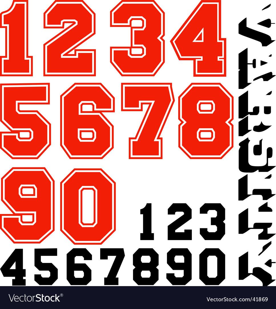 Varsity numbers