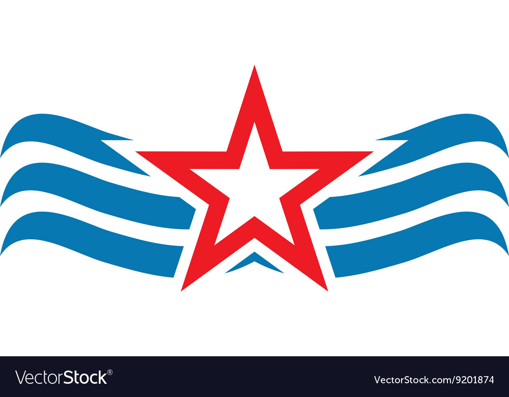 America Star USA logo icon