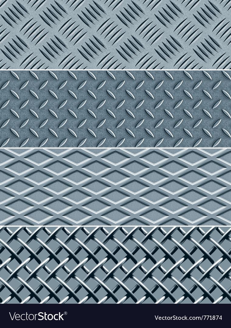 Metal texture seamless patterns