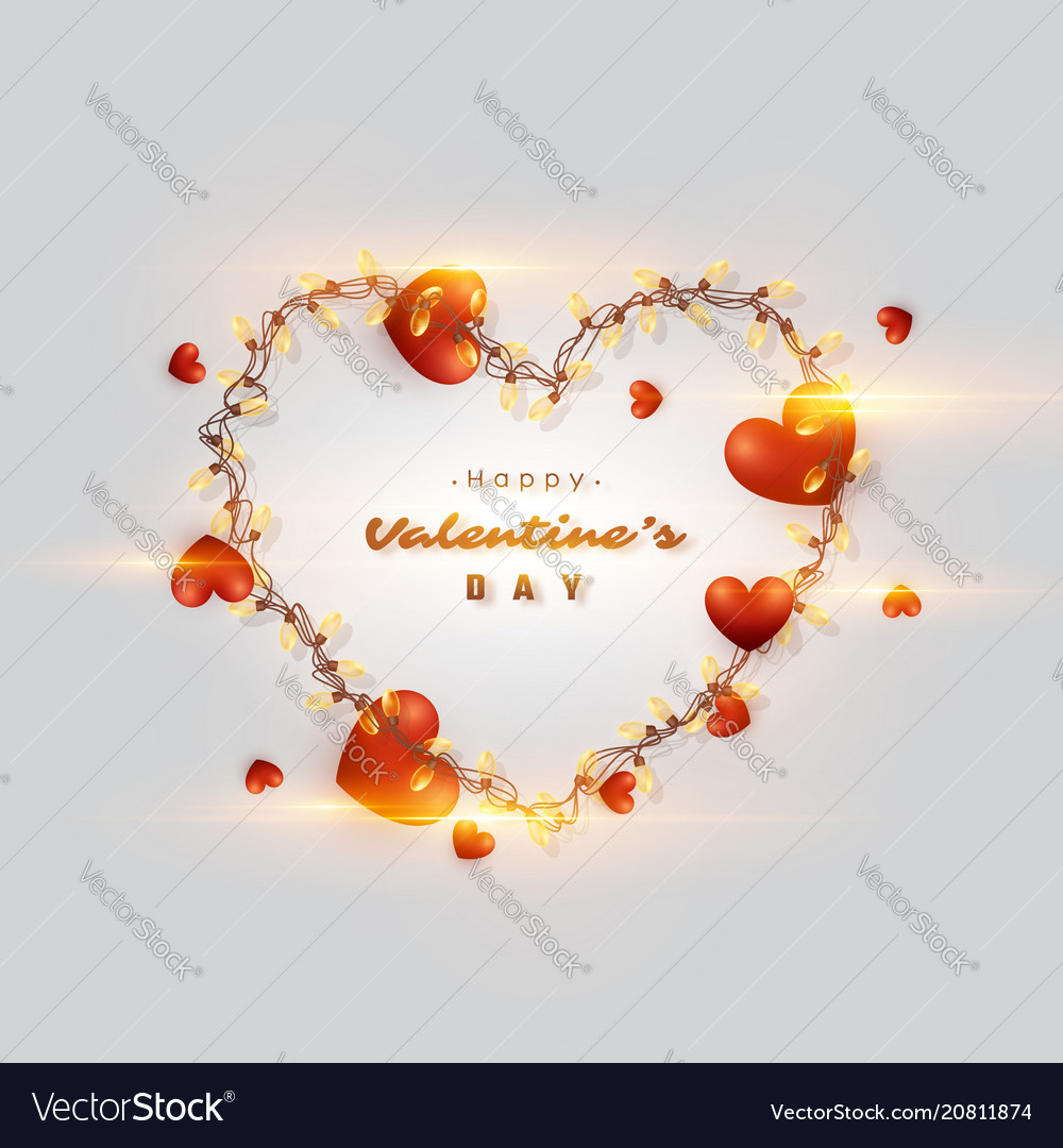 Valentines day holiday background