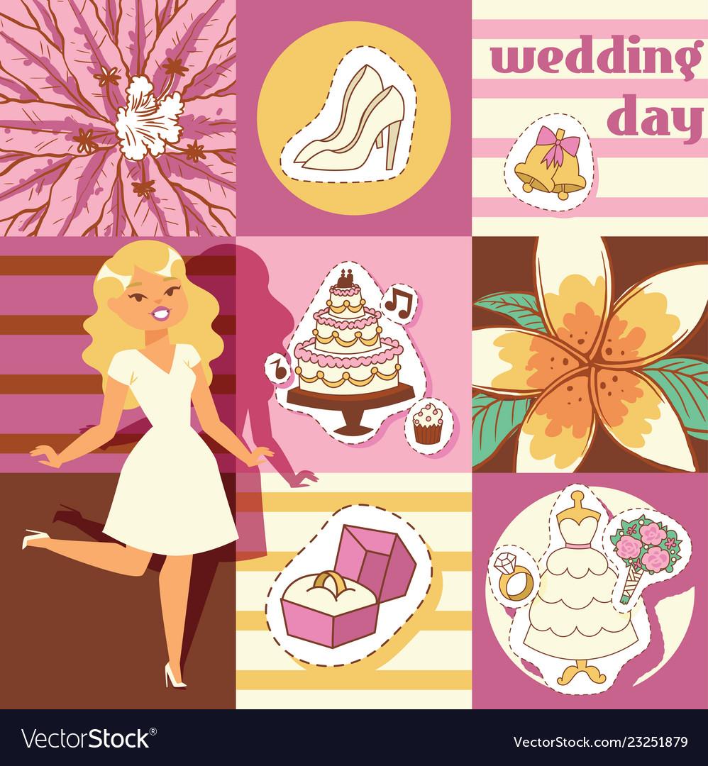 Wedding day background