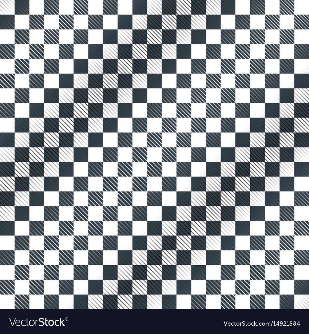 Floor checkerboard or finish racing car flag vector image
