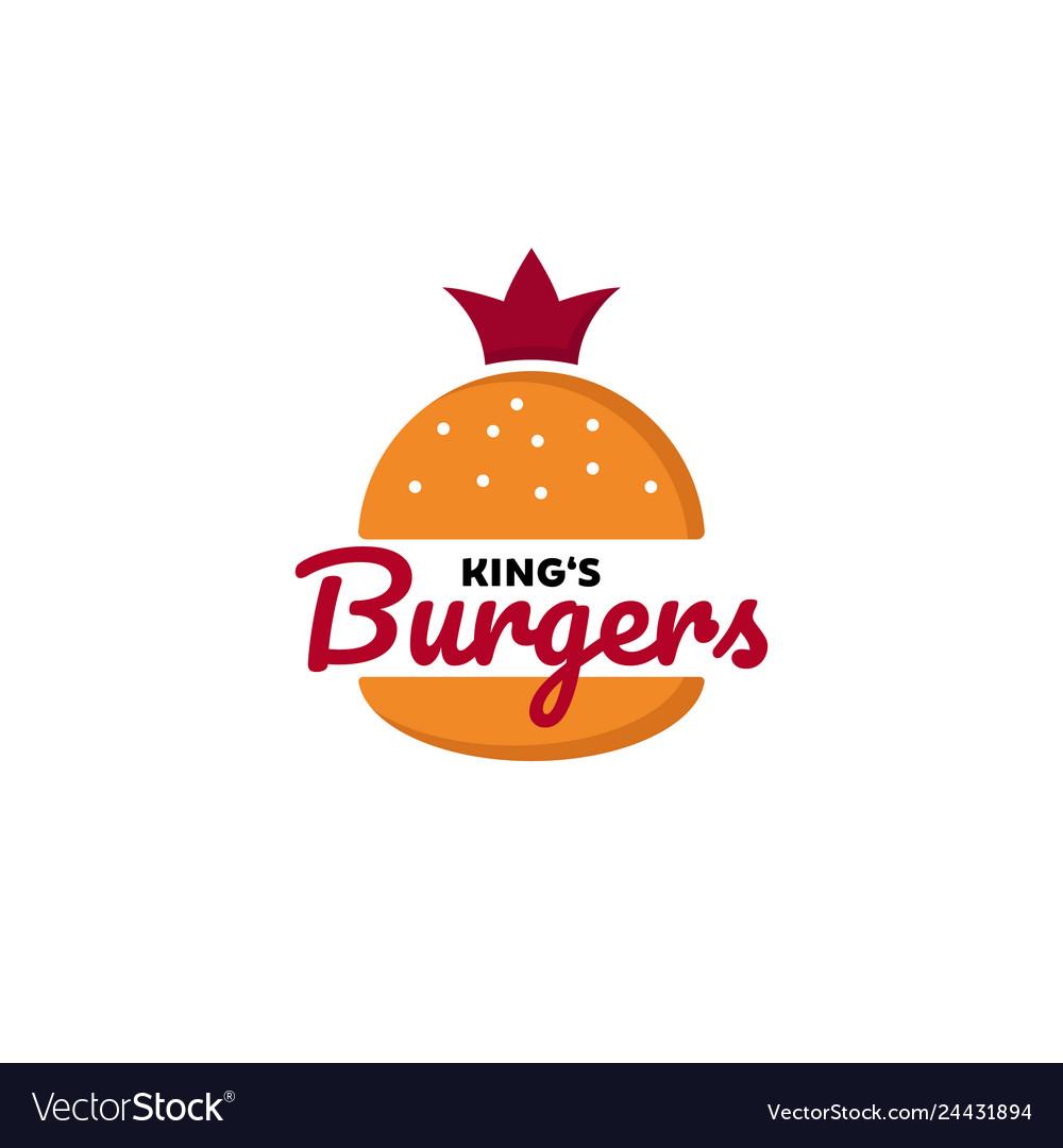 King burger logo designs inspirations