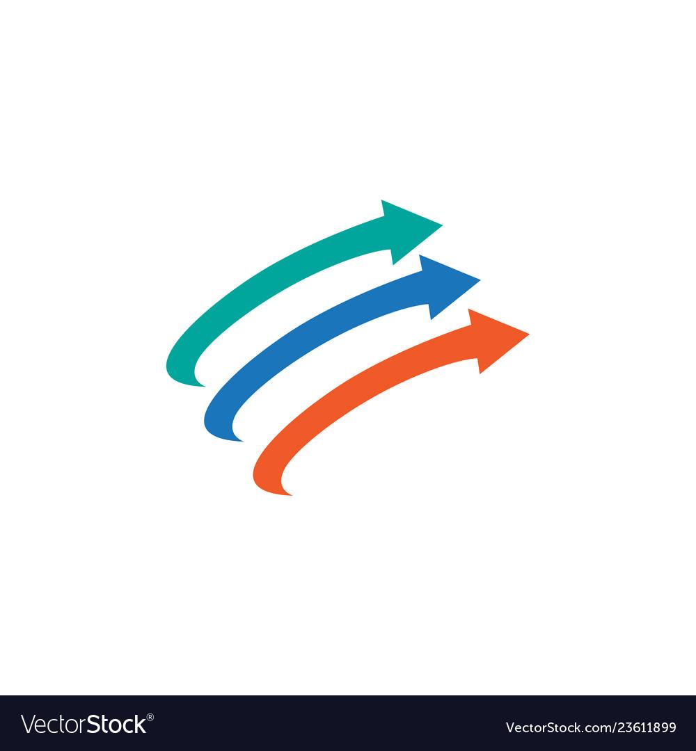 Abstract arrow image