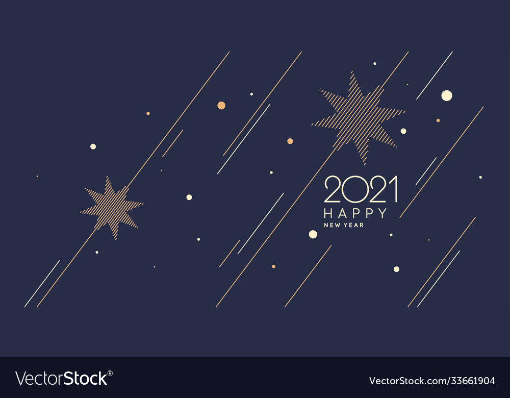 Background with inscription happy new year