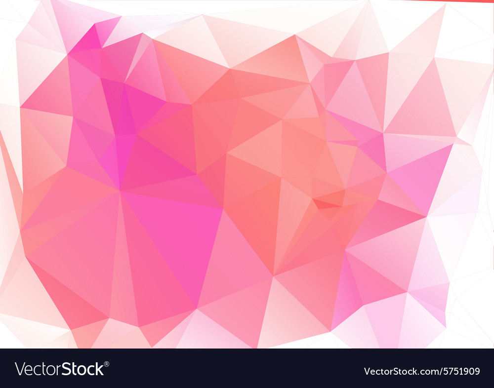 Abstract pink Geometric Background for Design
