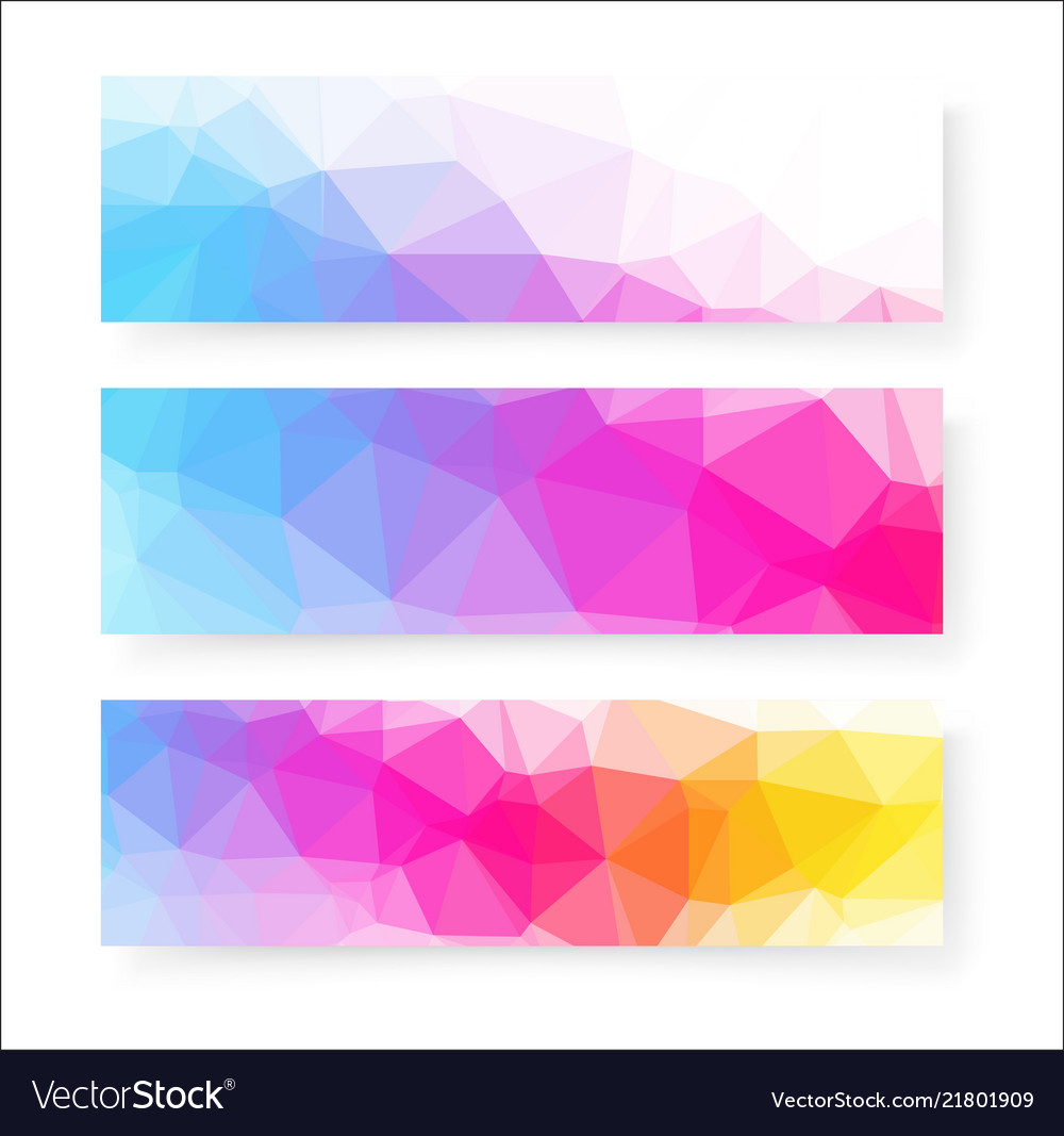 Banner design abstract background