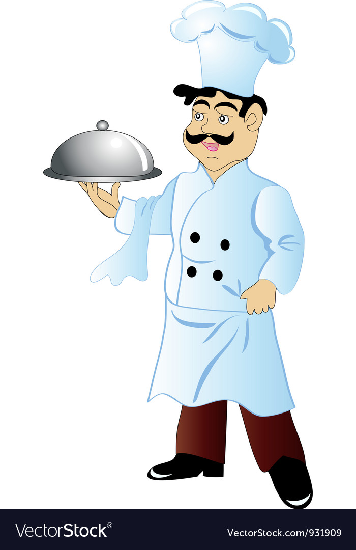 Cartoon Chef vector image