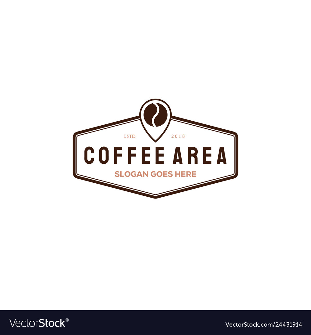 Coffee cup logo design template coffee shop labels