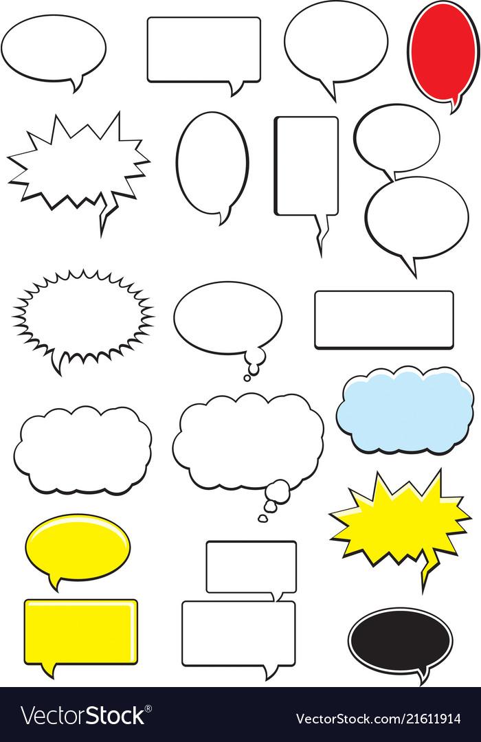 Word bubbles