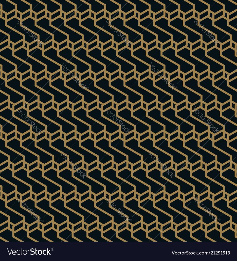 Elegant line ornament pattern seamless pattern