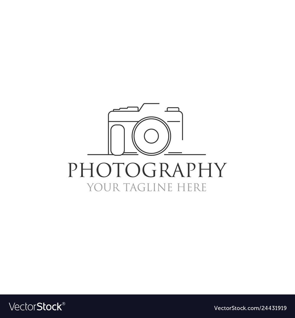 Minimalist photography logo designs