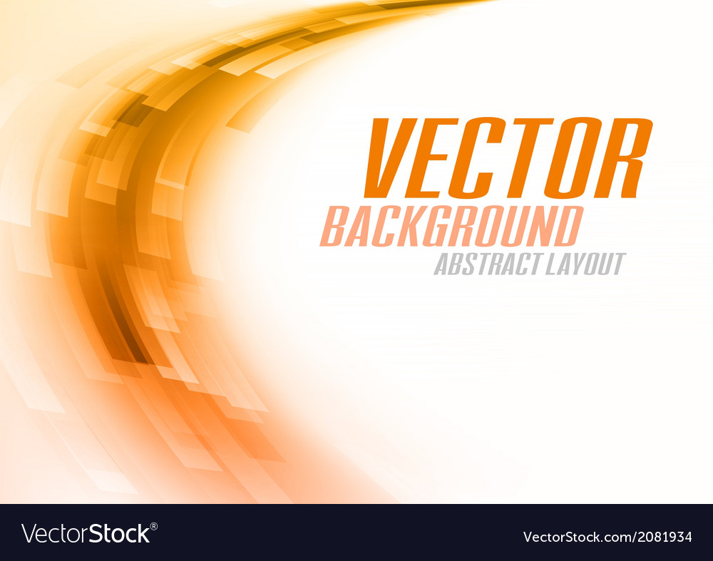 Background curve stripes orange white